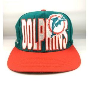 Vintage Miami Dolphins Logo 7 Hat